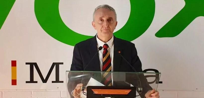 José Miguel Tasende, presidente de VOX Melilla