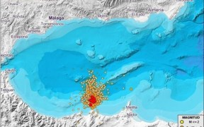 Mapa de terremotos