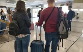 Imagen del aeropuerto de Melilla durante la presente pandemia