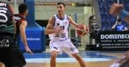 Adrián Chapela, jugador del Melilla Baloncesto