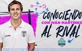 El segundo entrenador, Iván Martínez, nos desgrana como es el Palmer Alma Mediterránea Palma