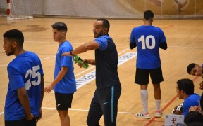 Faisal Salmi, entrenador del Melilla Balonmano