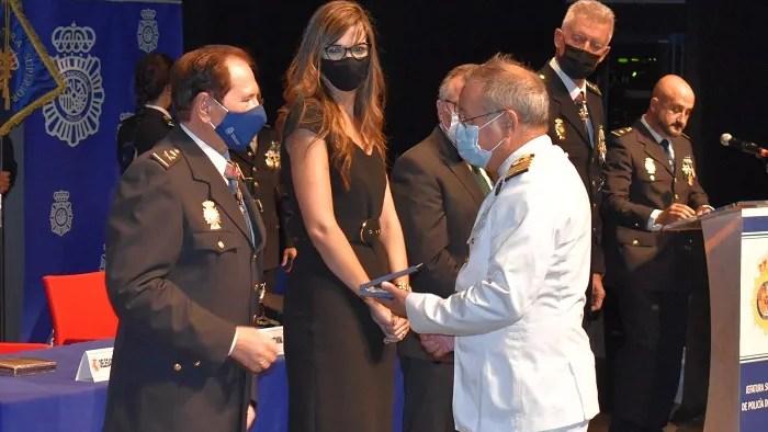 El ex jefe superior de policía de Melilla, antes de su jubilación