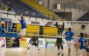 Mariano Giustiniano, jugador del Club Voleibol Melilla