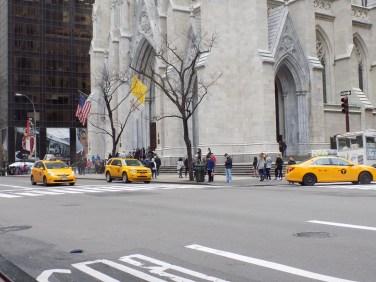 les beaux taxis de new york