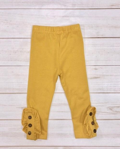 Melina & Me - Button Pants (Mustard)