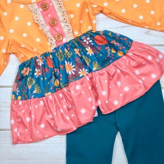 Melina & Me - Autumn Sunrise Outfit (Front)