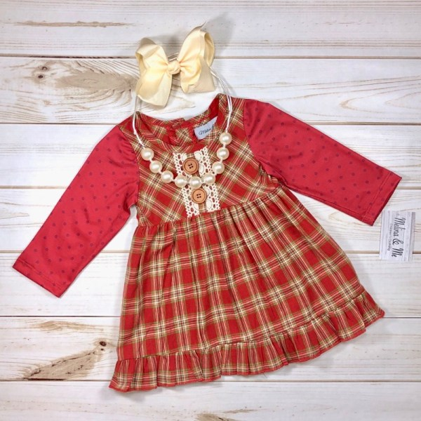 Country Christmas Dress