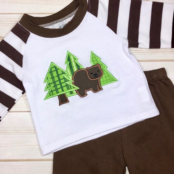 Melina & Me - Woodland Outfit (Front)