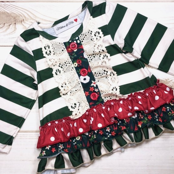 Melina & Me - Winterberry Outfit (Front)