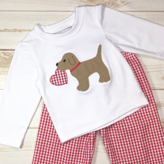 Melina & Me - Puppy Love Outfit (Front)