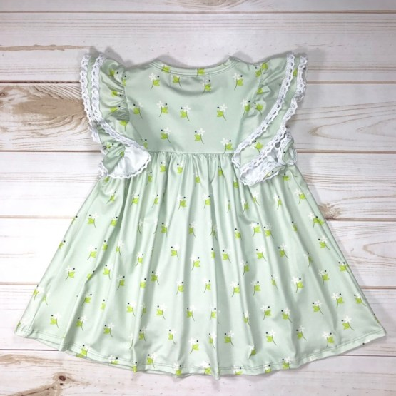 Melina & Me - Spring Garden Dress (Back)
