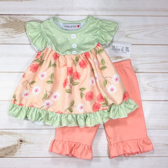 Melina & Me - Sweet Peach Outfit (Front)