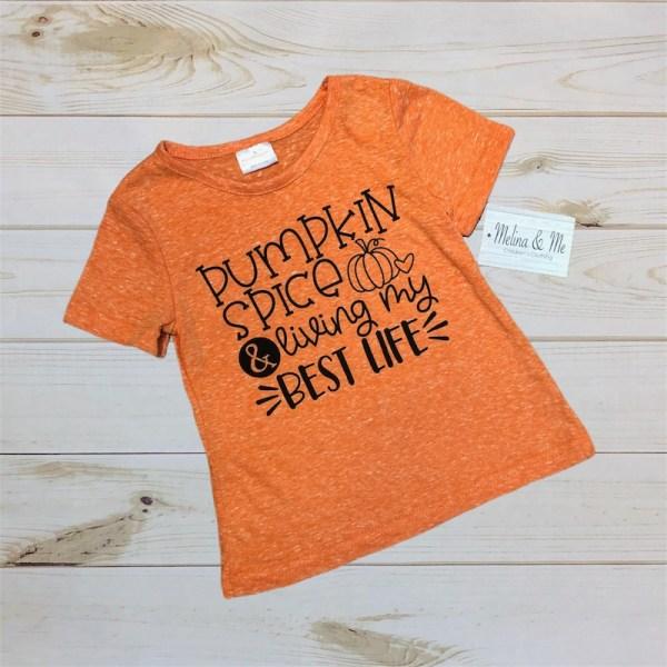 Best Life Pumpkin Shirt