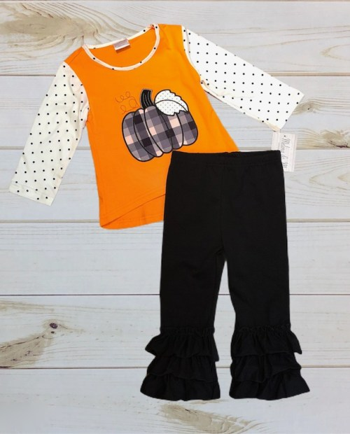 Melina & Me - Halloween Pumpkin Outfit