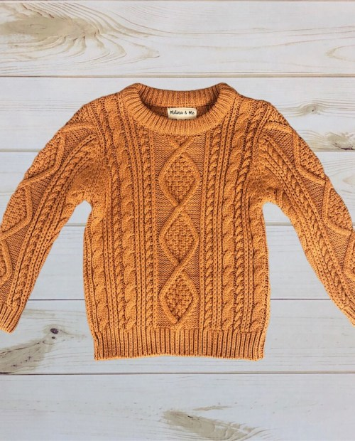 Melina & Me - Cozy Knit Sweater