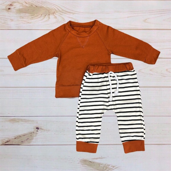 Rust & Stripes Outfit