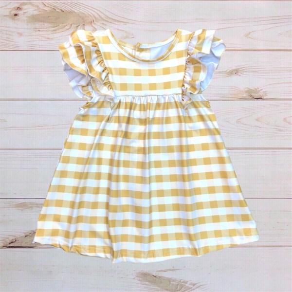 Annie Dress (Gold)