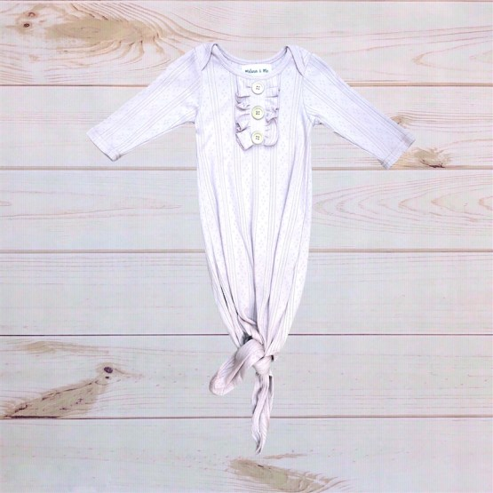Melina & Me - Amelia Baby Gown (Rose)