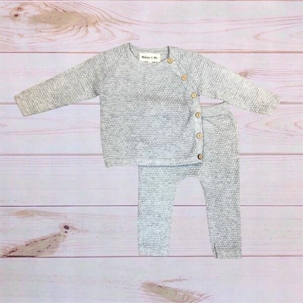 Knit Set (Gray)