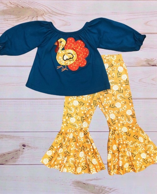 Marigold Turkey Outfit