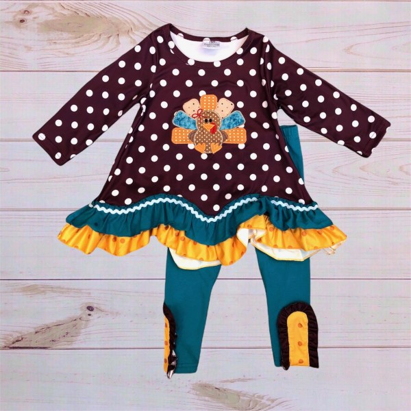 Polka Dot Turkey Outfit