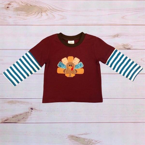 Striped Turkey Shirt
