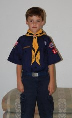 Wolf Cub Scout straight face 2009