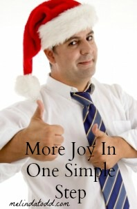 joy one step melindatodd