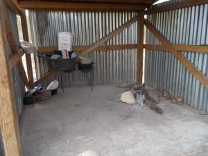 Haitian orphanage kitchen