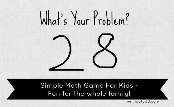 Simple Math game for kids