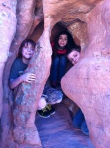 kids at red rock NV