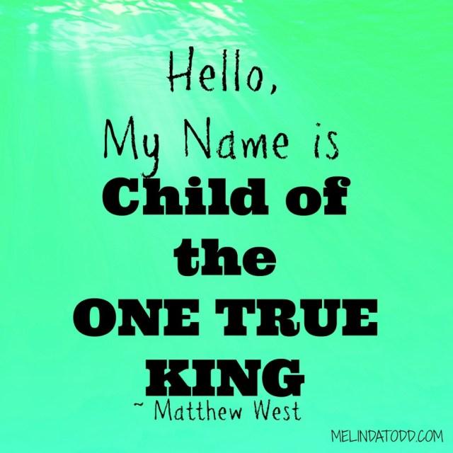 hello my name is melindatodd