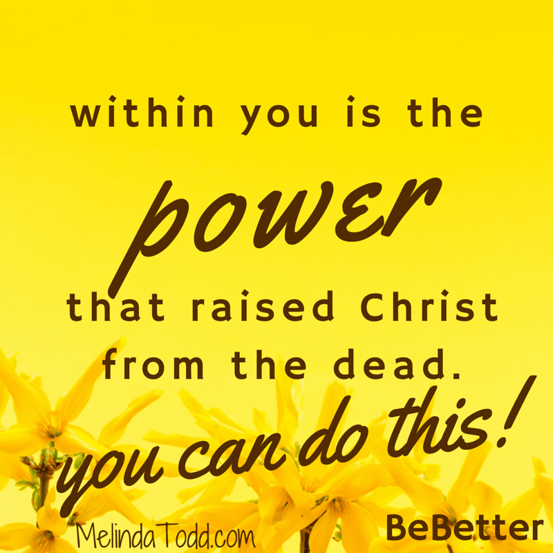 Power of Christ within you