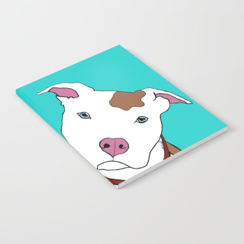 Pit bull Notebook