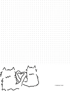 Lovey Cats Bullet Journal by Melinda Todd