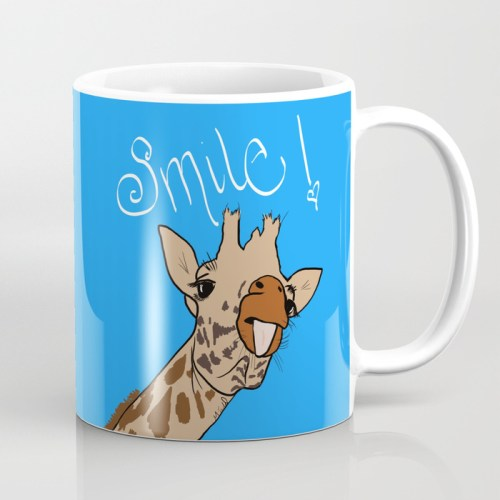 Happy Giraffe Mug