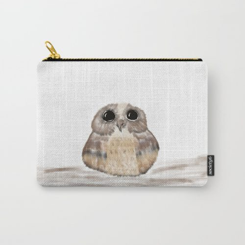 Sweet Owl Carry All Pouch