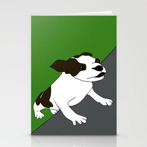 Annie The Boston Terrier Cards
