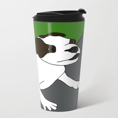 Annie The Boston Terrier Travel Mug