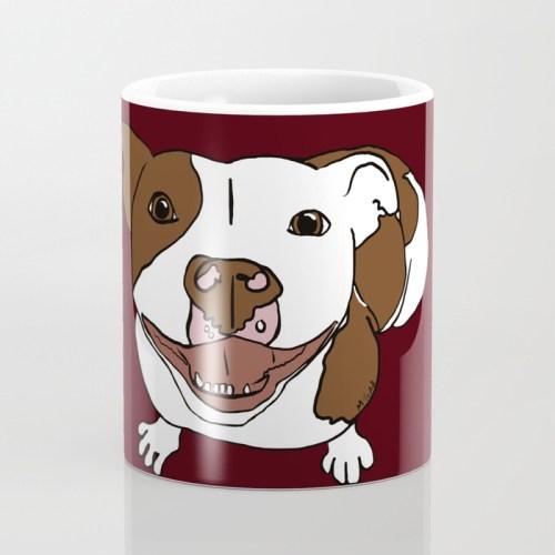 Celia Mae The Pit Bull Coffee Mug