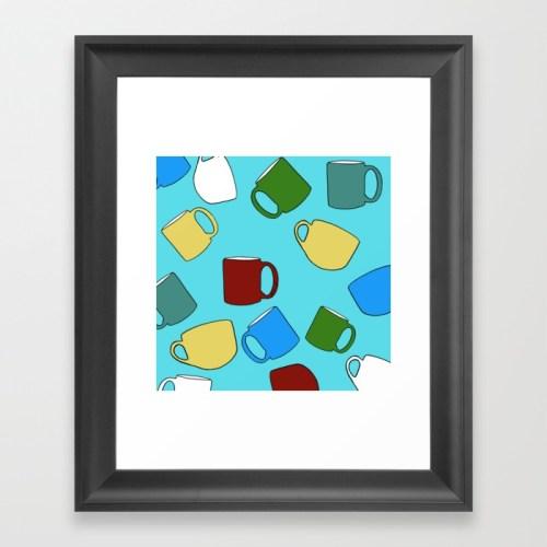 Coffee Mugs Framed Print