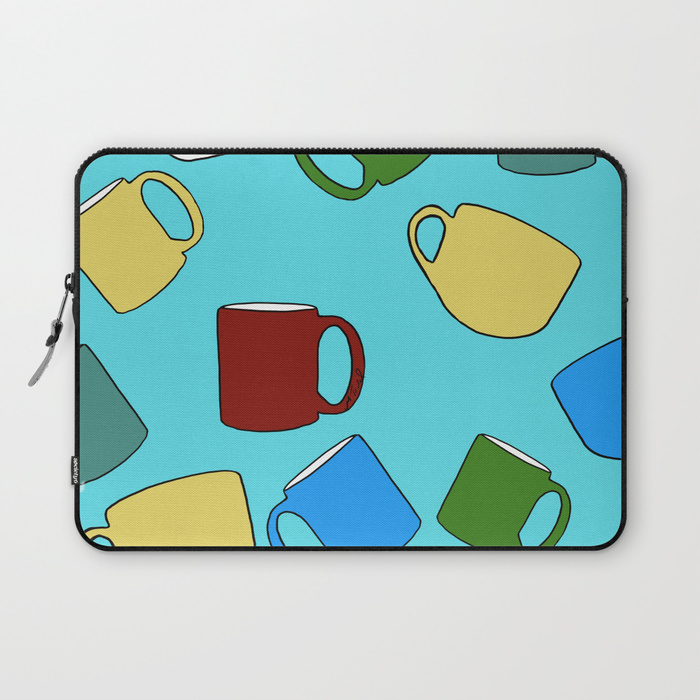 Coffee Mugs Laptop Sleeve