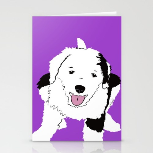 Gypsy The Sheepadoodle Cards