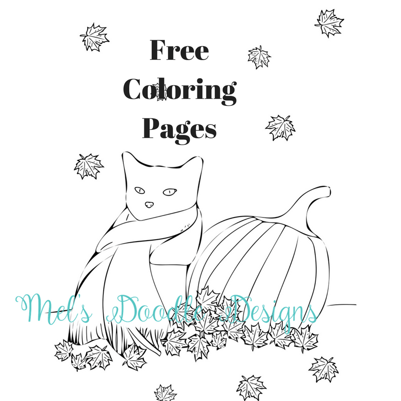 Free Coloring Pages by Melinda Todd