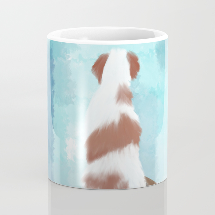 Deschutes The Brittany Spaniel Coffee Mug