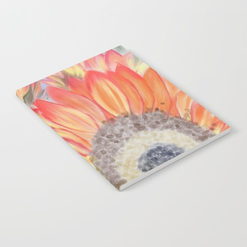 Fall Sunflowers Notebook