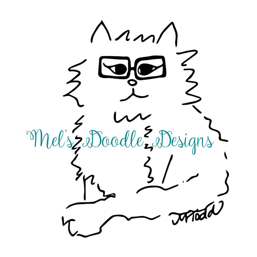 Mel's Doodle Designs logo