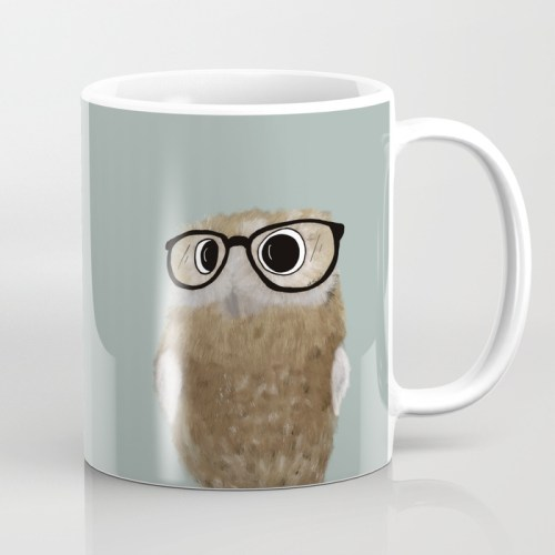 Owl Be Seeing You Coffee Mug by Mel's Doodle Designs