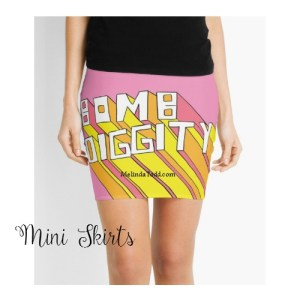 Mini Skirts by Mel's Doodle Designs